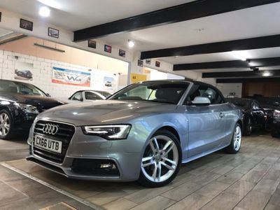 Audi A5 Cabriolet Convertible 2.0 TDI S line Cabriolet Multitronic (s/s) 2dr
