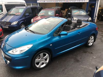 PEUGEOT 307 CC Convertible {Edition unlisted}