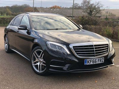 Mercedes-Benz S Class Saloon 3.0 S350L d AMG Line (Executive) 9G-Tronic (s/s) 4dr