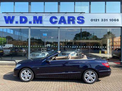 Mercedes-Benz E Class Convertible 1.8 E250 CGI BlueEFFICIENCY SE Cabriolet 2dr