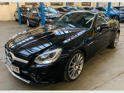 Mercedes-Benz SLC Convertible 1.6 SLC180 AMG Line (s/s) 2dr