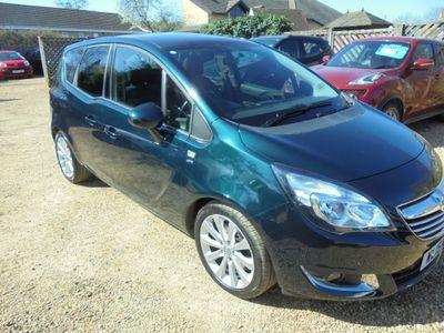 Vauxhall Meriva MPV 1.7 CDTi SE 5dr