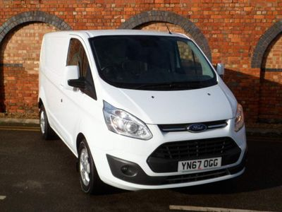 Ford Transit Custom Panel Van 2.0 TDCi 290 Limited Auto L1 H1 5dr