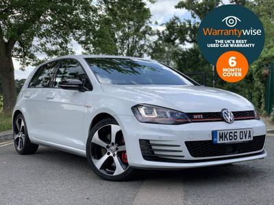 Volkswagen Golf Hatchback 2.0 TSI BlueMotion Tech GTI (Performance pack) DSG (s/s) 5dr