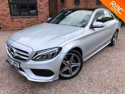 Mercedes-Benz C Class Saloon 2.1 C250d AMG Line (Premium) G-Tronic+ (s/s) 4dr