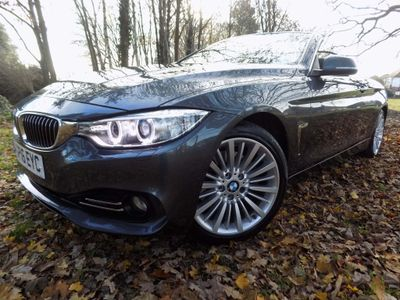 BMW 4 Series Convertible 2.0 430i Luxury 2dr