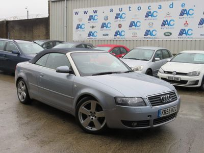 Audi A4 Cabriolet Convertible 3.0 S line Cabriolet CVT 2dr