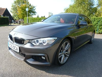 BMW 4 Series Gran Coupe Saloon 3.0 430d M Sport Gran Coupe 5dr