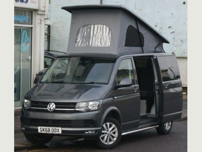 Volkswagen Transporter Van Conversion T6 2.0TDi EURO6 SWB 4 BERTH 4 SEAT CAMPERVAN WITH TAILGATE & REIMO ROOF