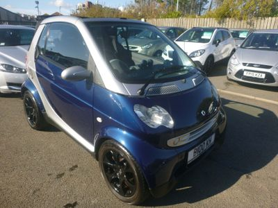 Smart fortwo Convertible 0.7 City Spring Cabriolet 2dr