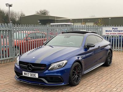 Mercedes-Benz C Class Coupe 4.0 C63 V8 BiTurbo AMG S Edition 1 SpdS MCT (s/s) 2dr