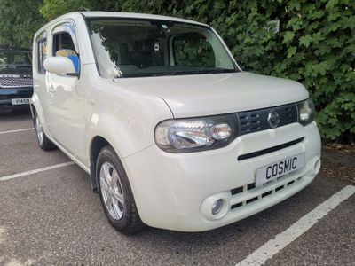 Nissan Cube Hatchback 1.5 AUTOMATIC PETROL METALLIC WHITE