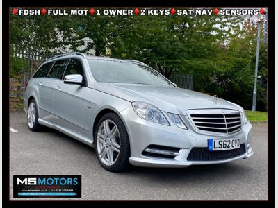 Mercedes-Benz E Class Estate 2.1 E220 CDI BlueEFFICIENCY Sport Edition 125 G-Tronic (s/s) 5dr