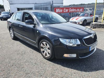 SKODA Superb Hatchback 1.6 TDI Greenline CR Elegance 5dr