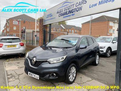 Renault Kadjar SUV 1.2 TCe Dynamique Nav (s/s) 5dr