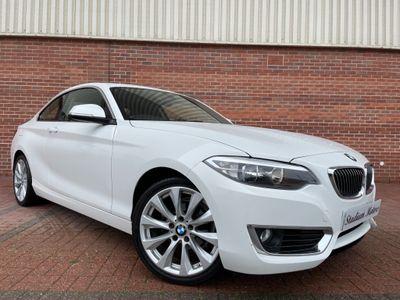 BMW 2 Series Coupe 1.5 218i Luxury Auto (s/s) 2dr