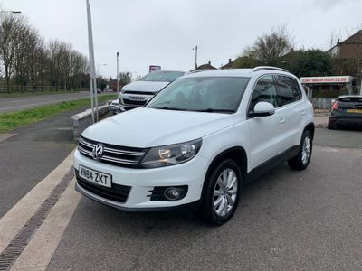 Volkswagen Tiguan SUV 2.0 TDI BlueMotion Tech Match 4MOTION (s/s) 5dr