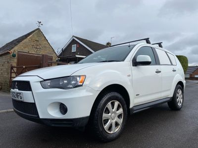 Mitsubishi Outlander Window Van 2.2 DI-D GX1 4work 5dr
