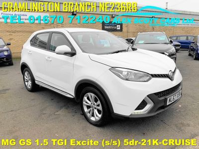 MG GS SUV 1.5 TGI Excite (s/s) 5dr