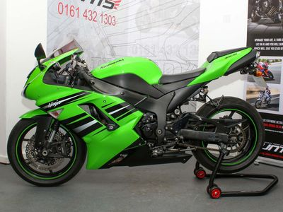 Kawasaki ZX-6R Super Sports 600 Ninja