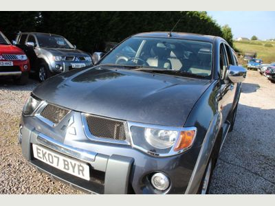 Mitsubishi L200 Pickup 2.5 DI-D Diamond Double Cab Pickup 4WD 4dr