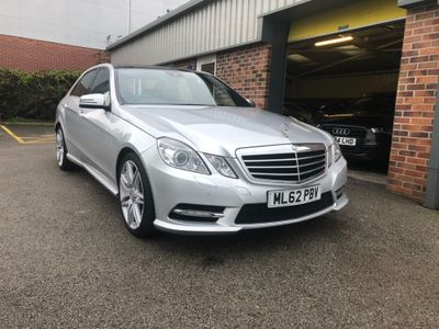 Mercedes-Benz E Class Saloon 3.0 E350 CDI BlueEFFICIENCY Sport 7G-Tronic Plus (s/s) 4dr