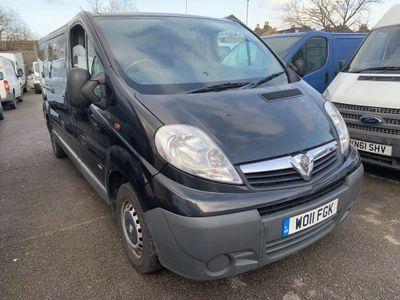 Vauxhall Vivaro Other 2.0 CDTi 2900 Panel Van Tecshift 4dr (EU4, LWB)