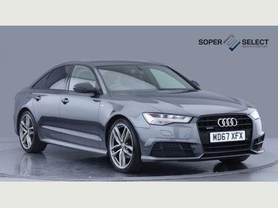 Audi A6 Saloon Saloon 2.0 TDI Black Edition S Tronic quattro (s/s) 4dr