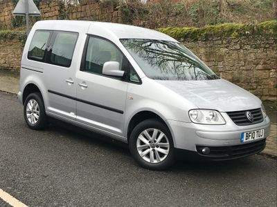 Volkswagen Caddy Maxi Life MPV 1.9 TDI DSG AUTO * WHEEL CHAIR CONVERTED