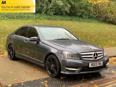 Mercedes-Benz C Class Saloon 1.8 C250 BlueEFFICIENCY AMG Sport Plus 7G-Tronic Plus 4dr