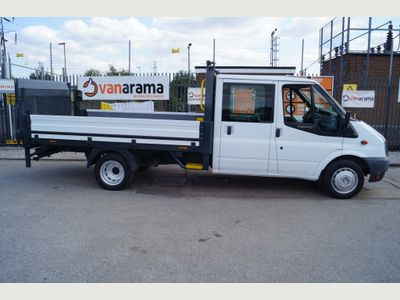 Ford Transit Dropside 2.2TD 350 CREWCAB DROPSIDE LWB TAIL-LIFT