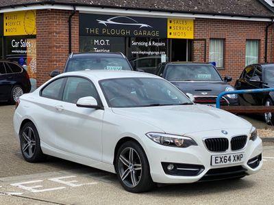 BMW 2 Series Coupe 2.0 220d Sport Auto (s/s) 2dr