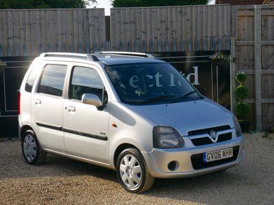 Vauxhall Agila Hatchback 1.2 i Design 5dr