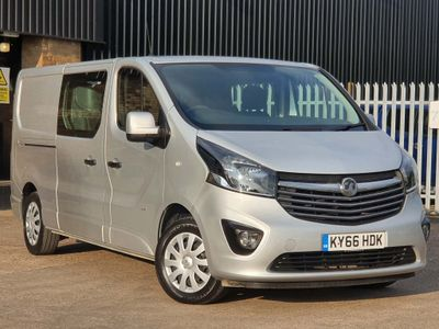 Vauxhall Vivaro Other 1.6 CDTi 2900 BiTurbo Sportive Crew Van L2 H1 EU6 (s/s) 5dr (6 Seat)