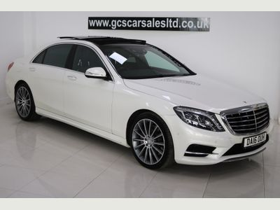 Mercedes-Benz S Class Saloon 3.0 S350d AMG Line L (Executive) (s/s) 4dr