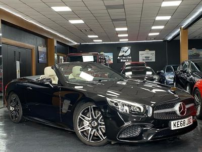 Mercedes-Benz SL Class Convertible 3.0 SL400 V6 AMG Line (Premium) G-Tronic+ (s/s) 2dr