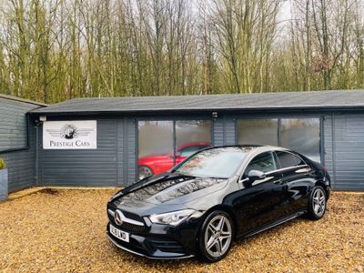 Mercedes-Benz CLA Class Coupe 1.3 CLA180 AMG Line 7G-DCT (s/s) 4dr