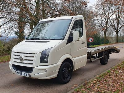 Volkswagen Crafter Chassis Cab 2.5 TDI CR35 Chassis Cab Shiftmatic 2dr (MWB)