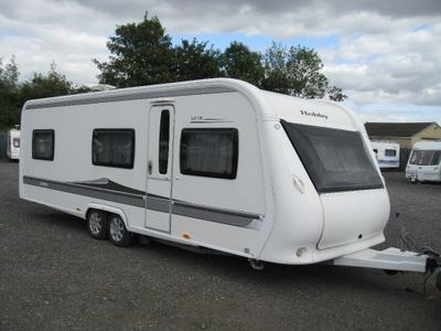 Hobby 645 VIP Tourer 2012 5 BERTH WITH MOVER