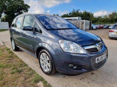 Vauxhall Zafira MPV 1.8 i VVT 16v Breeze Plus 5dr