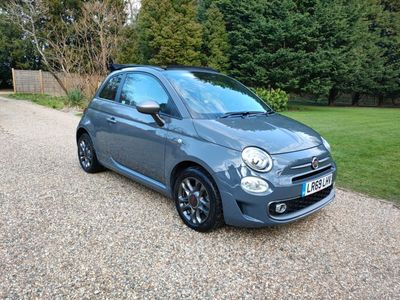 Fiat 500C Convertible 1.2 8V Sport (s/s) 2dr