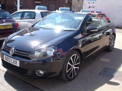 Volkswagen Golf Convertible 2.0 TDI BlueMotion Tech GT Cabriolet DSG 2dr
