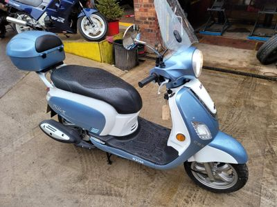 Sym Fiddle Scooter 200 III 200
