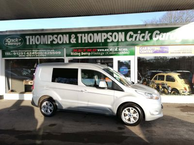 Ford Transit Connect Panel Van 1.6 TDCi 200 Limited L1 4dr