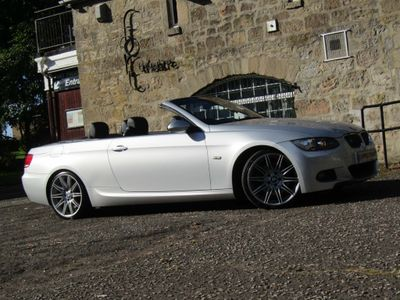 BMW 3 Series Convertible 3.0 325d M Sport 2dr