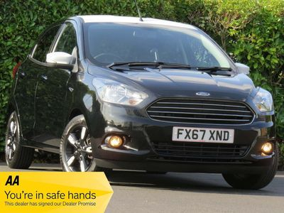 Ford Ka+ Hatchback 1.2 Ti-VCT Zetec Black Edition 5dr