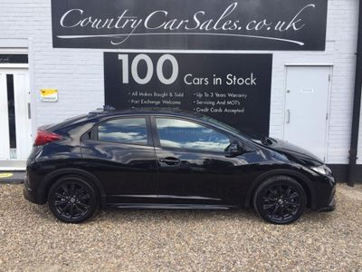 Honda Civic Hatchback 1.6 i-DTEC Black Edition 5dr