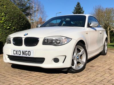 BMW 1 Series Coupe 2.0 120i Exclusive Edition 2dr