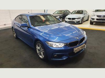 BMW 4 Series Gran Coupe Hatchback 2.0 420d M Sport Gran Coupe Auto (s/s) 5dr