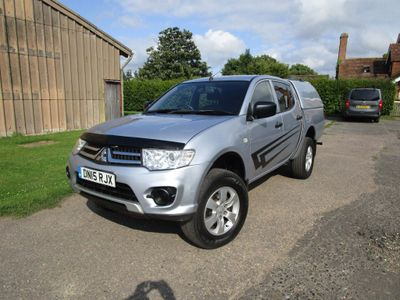 MITSUBISHI L200 Pickup 2.5 DI-D CR 4Work Double Cab Pickup 4WD 4dr